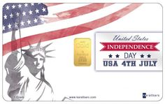 To celebrate the USA Indipendence Day the new Karatbars gold card