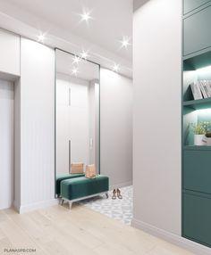 ULTRA_CITY on Behance Home Design Decor, Interior Design Inspiration, House Design, Kitchen Room Design, Home Decor Kitchen, Small Condo Living, Hallway Designs, Interior Architecture, Furniture Design