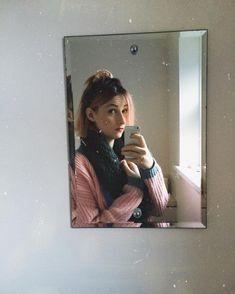 mirror selfie sort of morning.