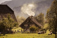 How to see all of Switzerland in a single day There are more than 100 historic buildings rescued from all over Switzerland at the Ballenberg Open-Air Museum Switzerland House, Switzerland Cantons, Europe Day, Travel Europe, European Travel, Horse Carriage Rides, Open Air, Journey, H & M Home