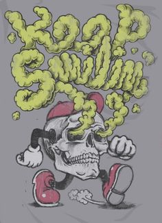 Permagrin Grim on Threadless Got Print, Bowser, Images, Illustration, Prints, Painting, Fictional Characters, Smoking, Art