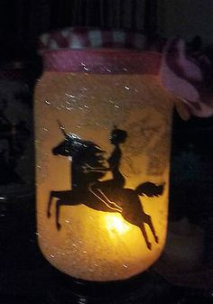 Fairy magic,unicorn with fairy jar #night light, ideal #gift, flameless #candle,  View more on the LINK: http://www.zeppy.io/product/gb/2/252620161724/