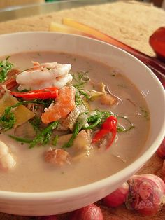 Authentic Thai Food, Dessert Recipes, Desserts, Thai Recipes, Asian, Allrecipes, Thai Red Curry, Good Food, Soup