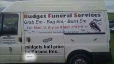 There is no way this is real! From Confessions of a Funeral Director Paul Berry, Funny As Hell, Funny Shit, Confessions, Funny Jokes, Hilarious, I Laughed, Budgeting, Funny Pictures