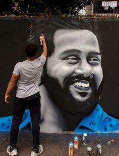 Graffiti, Dream City, Mumbai, Joker, India, King, Artist, Fictional Characters, Goa India