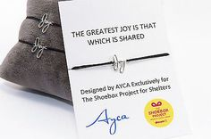 Share Joy Bracelet exclusively designed by Ayca for The Share Joy Collaboration | eBay