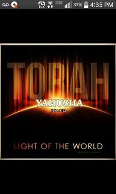 YAHUSHA IS TORAH - The WORD made flesh!