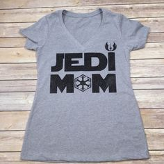 Star Wars Family Shirts Mom Option Jedi Mom by BlissGiftShop