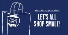 Save the date! This year's Small Business Saturday is November 29th! #shopsmall #smallbusiness #coffee