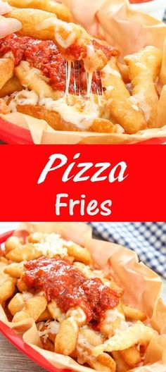Fried pizza dough, mozzarella and marinara. A great game day appetizer. Deep fried pizza dough that puff up into fries that are then topped with mozzarella cheese and marinara sauce. Mozzarella, Deep Fried Pizza, Pizza Frita, San Diego Food, Game Day Food, Deep Dish, Clean Eating Snacks, Street Food, Love Food