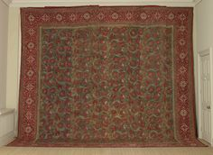 <em>A large, complete Summer Carpet from the Amber Group of Chintzes</em>, North India, c. 1645