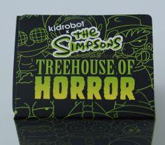 "The Simpsons Treehouse of Horror - 3"" vinyl figures - KidRobot - blind box"