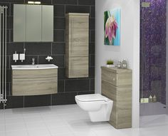 Atlanta's Marvellous Modular Bathroom Furniture - For a contemporary and stylish look in your home, try our modular bathroom furniture. If the fitted style isn't for you, and you'd prefer some separate bathroom units, this is the style to choose. The freestanding style of modular bathroom furniture will create a trendy and modern aesthetic. Here are a few of our favourite modular ranges of furniture.
