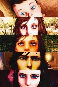 Anna's and Elizabeth's Eyes #bioshock #infinite