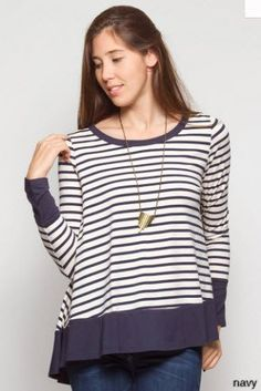 CAPE COD STRIPED TOP