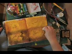 I love this tutorial. I also am a fan of a 'dirty page'. Art Journal Technique: Dirty Pages