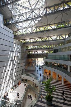 株式会社 日本設計 『アクロス福岡(福岡シンフォニーホール)』 http://www.kenchikukenken.co.jp/works/1479111842/151/ #architecture