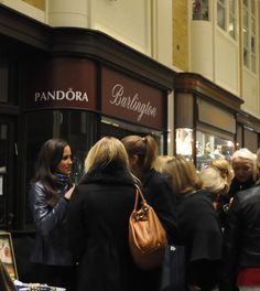 Pippa Middleton at Burlington Arcade