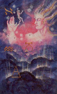 Celestial Tarot - 0 - The Fool - Uranus