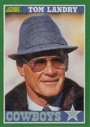 Coach Tom Landry