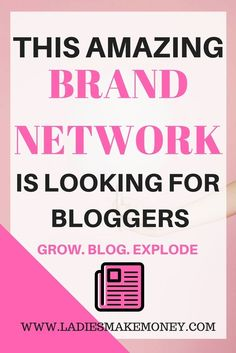 How to work with brands and network influencers as a blogger. How to work with brands and network influencers. This is how you can land a sponsored post and earn money as a blogger. Make money online by working with brands. Monetize your online business b