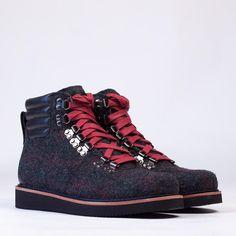 Abington By Timberland Abington Hiker Boot - Black Woolrich
