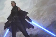 """cyberclays: """" Star Wars - fan art by Nick Gan """"Justice isn't bound by the existence of nature. This very place has always been a neutral ground. It is whoever wins the war, becomes justice itself. Star Wars Rpg, Rey Star Wars, Star Wars Fan Art, Star Wars Jedi, Star Wars Characters Pictures, Star Wars Images, Female Jedi, Rogue One Star Wars, Female Character Design"""