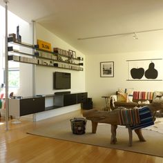 Living Inside the Vitsoe LA Showroom