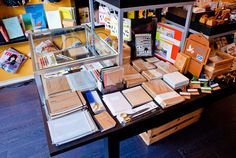 Another shot of some of our dreamy stationery displays (says the stationery fiend) ;-;
