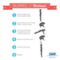 Love 'em or hate 'em, burpees WORK! They're one of my fave moves, thanks to the double whammy of cardio and an all-over strength workout. Why not add 10-20 of these bad boys to your next workout?