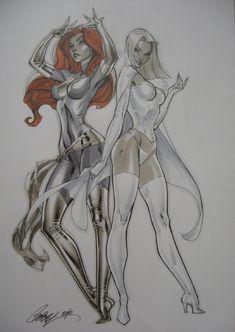 Jean Grey & Emma Frost