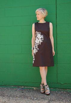 Blue Hue Wonderland--summer dress