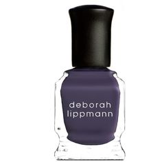 Deborah Lippmann Nail Polish in Fashionably Late (£16) ❤ liked on Polyvore featuring beauty products, nail care, nail polish, deborah lippmann nail polish, deborah lippmann, deborah lippmann nail lacquer and deborah lippmann nail color