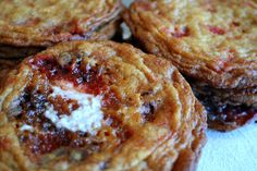 Giant Peppermint Florentine Cookies, as big as your face! | Shikha la mode