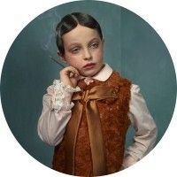 """Children smoking"" project of Frieke Janssens, a Belgian based photographer"