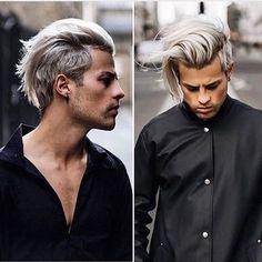 Top Male Hair Trends to Try in 2020 - LastMinuteStylist New Men Hairstyles, Mens Medium Length Hairstyles, Undercut Hairstyles, Haircuts For Men, Hair And Beard Styles, Curly Hair Styles, Men Facial Hair Styles, White Hair Men, Gents Hair Style