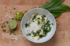 bärlauch-limetten-parmesan butter