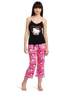 Hello Kitty Women's Hk Dreaming Of Love Two Piece Pajama Pant Set $20.00 - $22.99