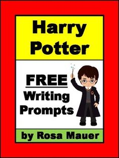Enjoy these free Harry Potter writing prompts that can be used with any of the Harry Potter books.Products you might like:Harry Potter and the Chamber of Secrets Character Clues PacketHarry Potter Book #1 Reading ComprehensionHarry Potter Book #1 Character Clues Task Cards Harry Potter and the Prisoner of Azkaban Book Unit Follow me to receive notice when FREE and paid products are added to my store.Click  here  to view all of the bundles at Rosa Mauer's store.Visit my store for a variety…