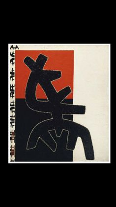 """Giuseppe Capogrossi - """" Superficie 423 """", 1961 - Olio su tela - 100 x 85 cm"""