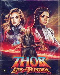Rate this fan poster of 'Thor Love and Thunder' Art by Lizzie DeBoer. – Cairwen Rate this fan poster of 'Thor Love and Thunder' Art by Lizzie DeBoer. Rate this fan poster of 'Thor Love and Thunder' Art by Lizzie DeBoer. Marvel Avengers, Marvel Fan, Marvel Heroes, Marvel News, Jane Foster, Super Anime, Die Rächer, Marvel Wallpaper, Thors Hammer