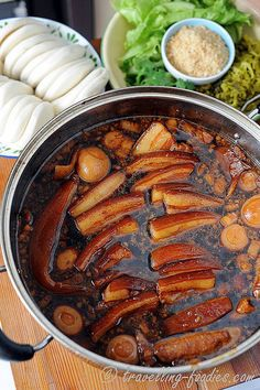 lu rou fan (Taiwanese braised pork) recipe. Drooling from the recipe.