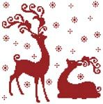 Artecy Cross Stitch. Free cross stitch patterns every two weeks.  This one is available until 24th January 2013.