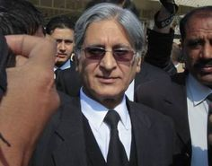 """Barrister aitzaz ahsan excused from representing """"Altaf"""""""