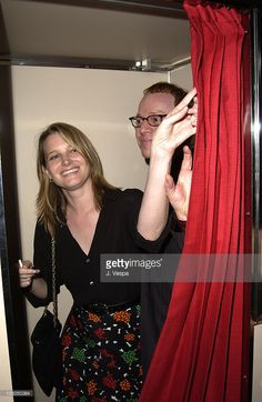Bridget Fonda and composer Danny Elfman in Brett Ratner's photobooth. Ratner is doing a book of photobooth pictures and he is donating all of the proceeds from the book to charity. Hudson Hotel, Elf Man, Bridget Fonda, Oingo Boingo, Re Animator, Danny Elfman, Cheer Me Up, Red Dragon, Photo Booth