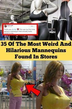 Mannequins are funny objects. They're meant to do something very simple: display clothes in a way that gives you an idea of how they look on a real Of The Most Weird And Hilarious Mannequins Found In Stores Weirdest Picture Ever, Haha Funny, Hilarious, Fun Funny, Funny Stuff, Celebrity Mugshots, Best Butt Lifting Exercises, Most Popular Social Media, Girl Facts