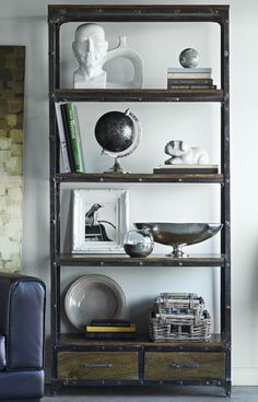 Book Shelves From Urban Barn Den Or Living Room