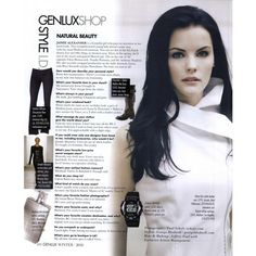 Genlux Editorial GenluxShop: Natural Beauty, Winter 2011 - MyFDB ❤ liked on Polyvore featuring editorials