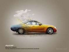 In this tutorial we will learn how to create an advertising poster for the car with the concept of photo manipulation in Photoshop.