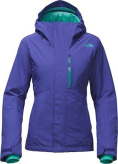 The North Face Women's Descendit Insulated Jacket Inauguration Blue XS